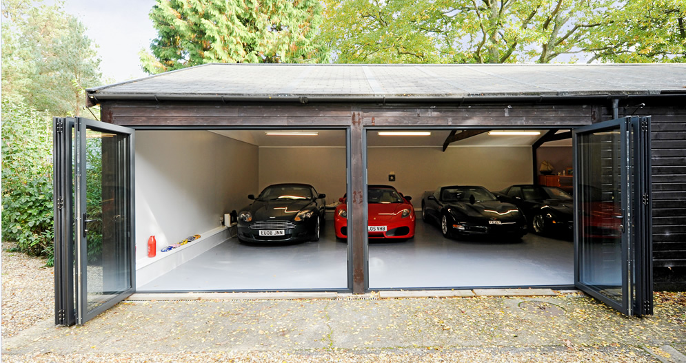 bi fold garage doorsOrigin BiFolding Doors  South Coast BiFolds