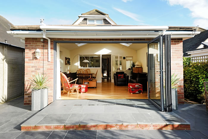 Bi Fold Doors Living Room South Coast Bi Folds