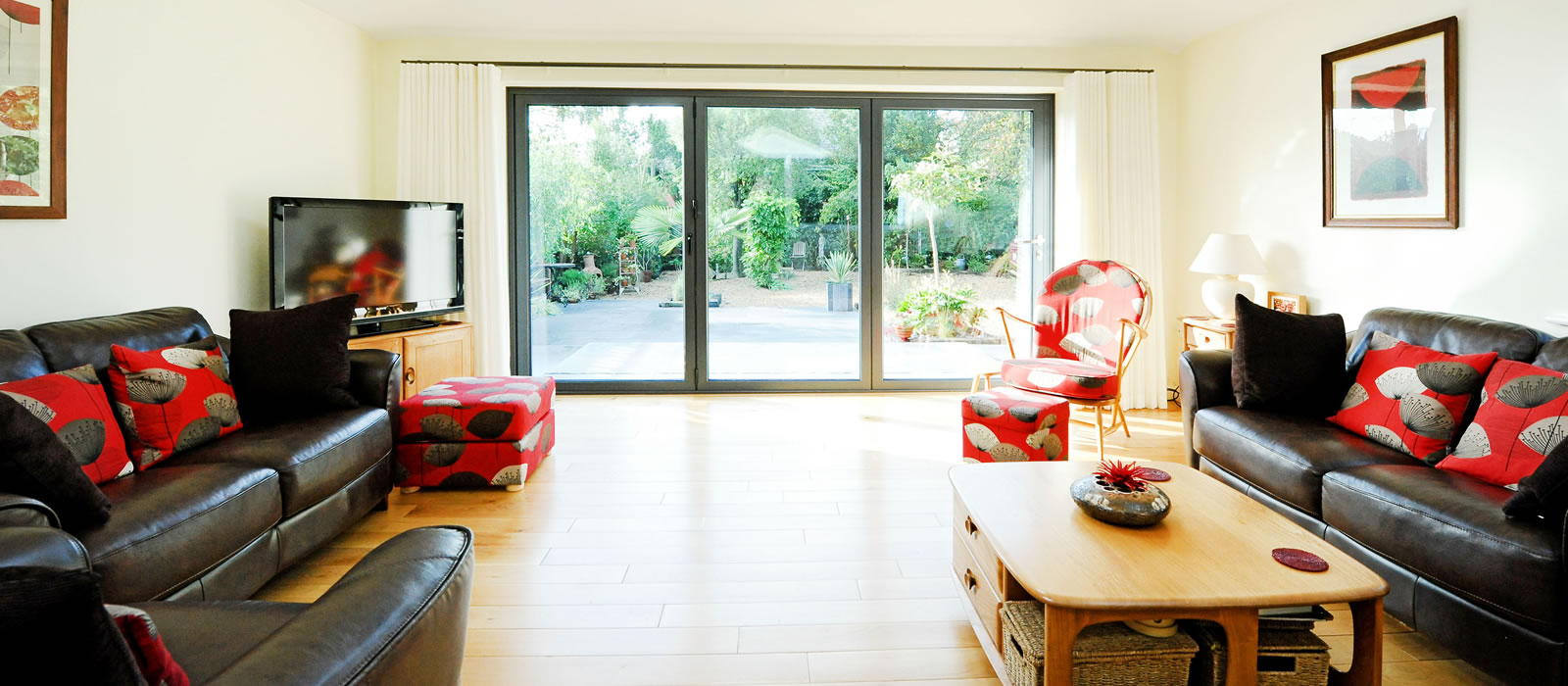 Flood your room with natural light
