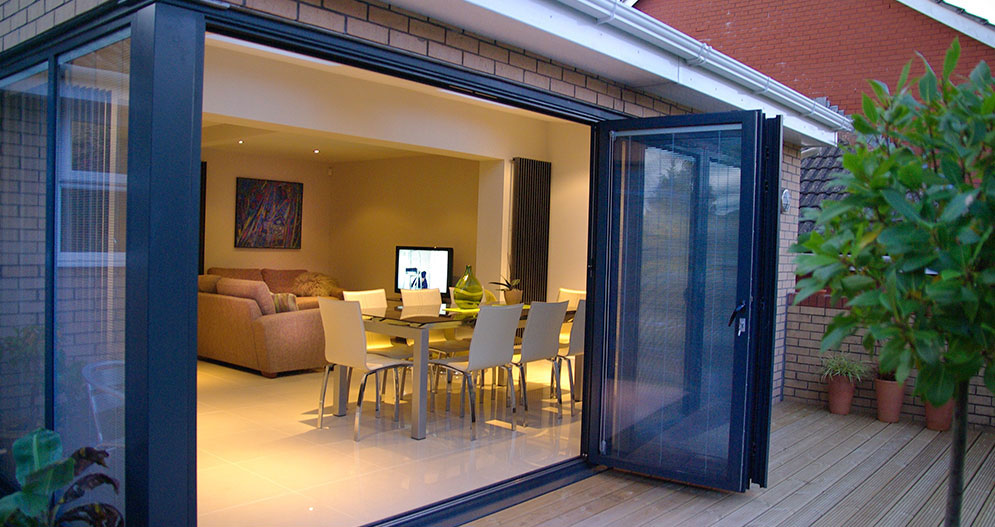 Lounge Extensions Fold Doors