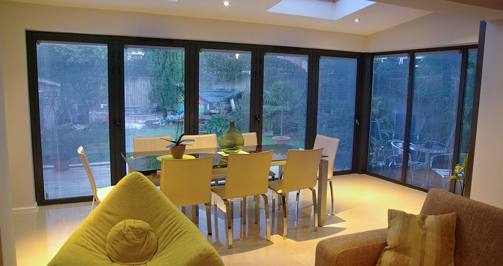 Lounge Extensions Bi Fold Doors